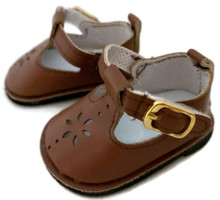 Mary Jane Shoes-Brown