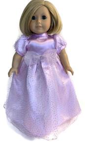3 Satin & Sparkle Gowns-Lavender