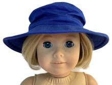 Royal Blue Canvas Hat