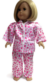 Heart Sating Pajamas-Pink