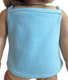 Tank Top-Light Blue