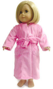 Bathrobe-Dark Pink