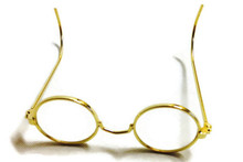 Glasses-Gold Rimmed