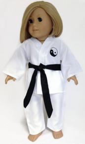 Karate with Black Belt