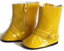 Rain Boots-Yellow