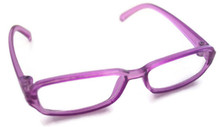 Glasses-Purple Rimmed