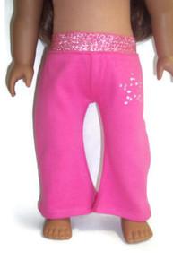 Yoga Pants-Bright Pink