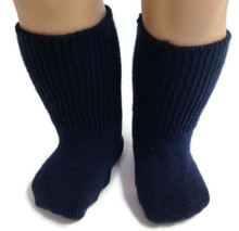 Knit Sport Socks-Navy