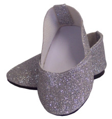 Princess Shoes-Silver Sparkle