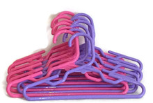 Hangers-6 Pink & 6 Lavender