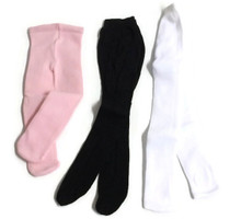 Tights-Assorted Set: Pink, Black, & White