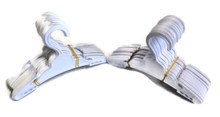 Hangers-White Plastic 2 dozen