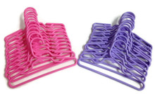 12 Pink & 12 Lavender Hangers - 2 Dozen