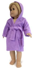 Hooded Beach Robe-Lavender