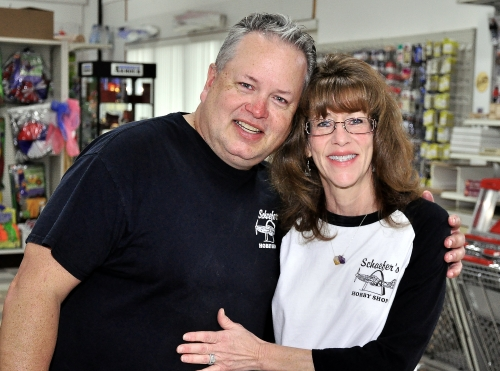 Proud Owners of Schaefers Hobby Shop - Art and Sherri Schaefer