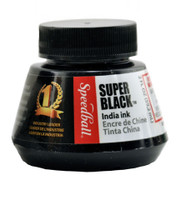 SUPER BLACK INDIA INK 2OZ