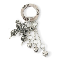Butterflies & Hearts Wrap Charm