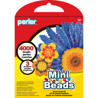 Mini Beads Flower Perler Bead Kit