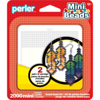 Feather Earrings Mini Perler Bead Kit
