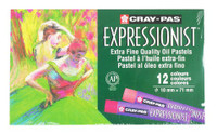CRAY PAS EXPRESSIONIST EXTRA FINE OIL PASTELS 12 CLR SET