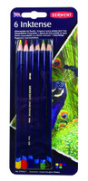DERWENT INKTENSE PENCIL 6 COLOUR CARDED