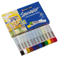 GOLDFABER STUDIO OIL PASTELS 12 COLOR SET