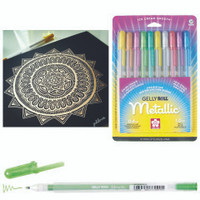 GELLY ROLL PEN METALLIC GREEN