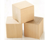 Wood Cube - 3/4 inch - 7 pieces