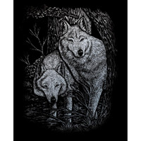 Wolves in the Trees – Engrave Art