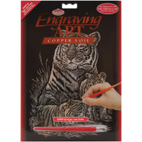 Tiger & Cubs – Engrave Art