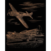 WWII Fighter – Engrave Art