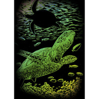 Undersea Turtle – Engrave Art