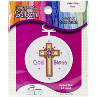 Cross Mini Counted Cross Stitch Kit