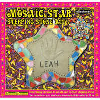 Star - Mosaic Stepping Stone Kit