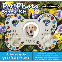 Pet Photo -– Mosaic Stepping Stone Kit