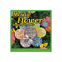 Flower –- Mosaic Stepping Stone Kit