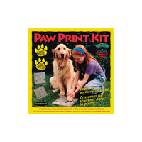 Paw Print –- Mosaic Stepping Stone Kit