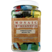 Assorted – Vitreous Glass Mosaic Tiles 2.5lb