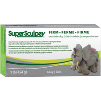 Super Sculpey Firm Clay 1lb – Gray