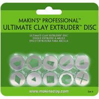 Makin's Professional Ultimate Clay Extruder Discs 10/Pkg – Set A