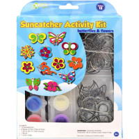 Butterflies & Flowers 12/Pkg