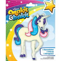 Makit & Bakit Suncatcher Kit – Glitter Unicorn