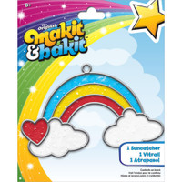 Makit & Bakit Suncatcher Kit – Rainbow W/ Clouds