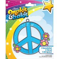 Makit & Bakit Suncatcher Kit – Peace Sign