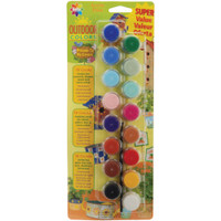 Outdoor Acrylic Paint Pots 16/Pkg