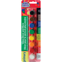 Americana Gloss Enamels Paint Pots 8/Pkg – Primary Accents
