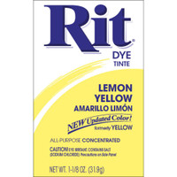 Rit Dye Powder - Lemon Yellow