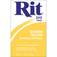 Rit Dye Powder -Golden Yellow