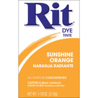 Rit Dye Powder - Sunshine Orange
