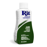 Rit Dye Liquid 8oz – Dark Green